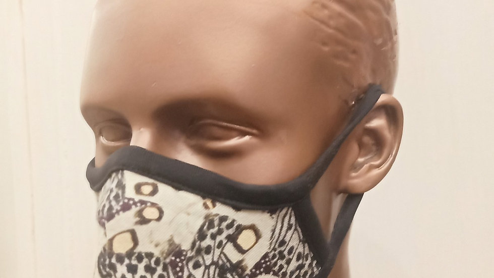 Digital printed covid mask