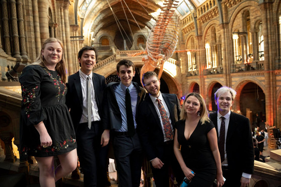Natural History Museum with the Cambridge Footlights, 2019.