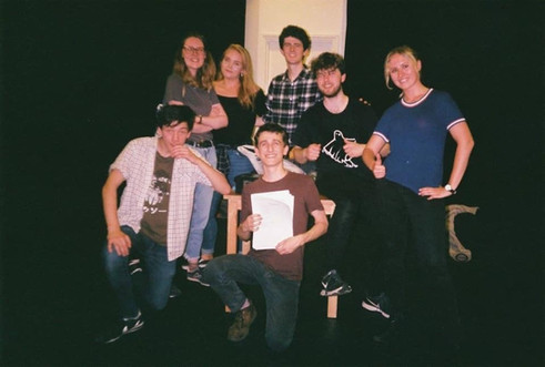 Cast n crew of 'Baby Steps: A Sketch Show', our first show together :)