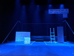 The set for the original 'Pool Noodles' at the ADC Theatre