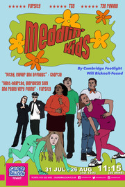Will's Scooby Doo parody play 'Meddlin Kids' at the Edinburgh Fringe 2019  (poster by Isobel Hedley)
