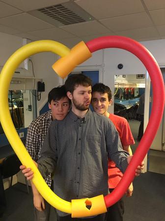 The boys <3 noodles