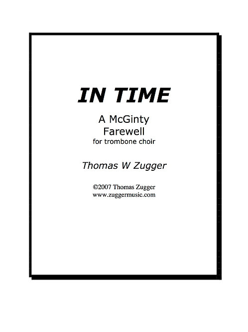 In Time a McGinty Farewell