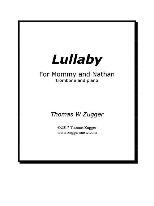 Lullaby for Mommy and Nathan