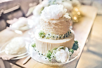 Gâteau de mariage superbe