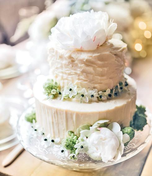 Pastel de boda imponente