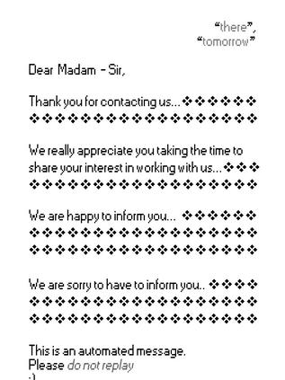 Dear Sr, Dear Madam,
