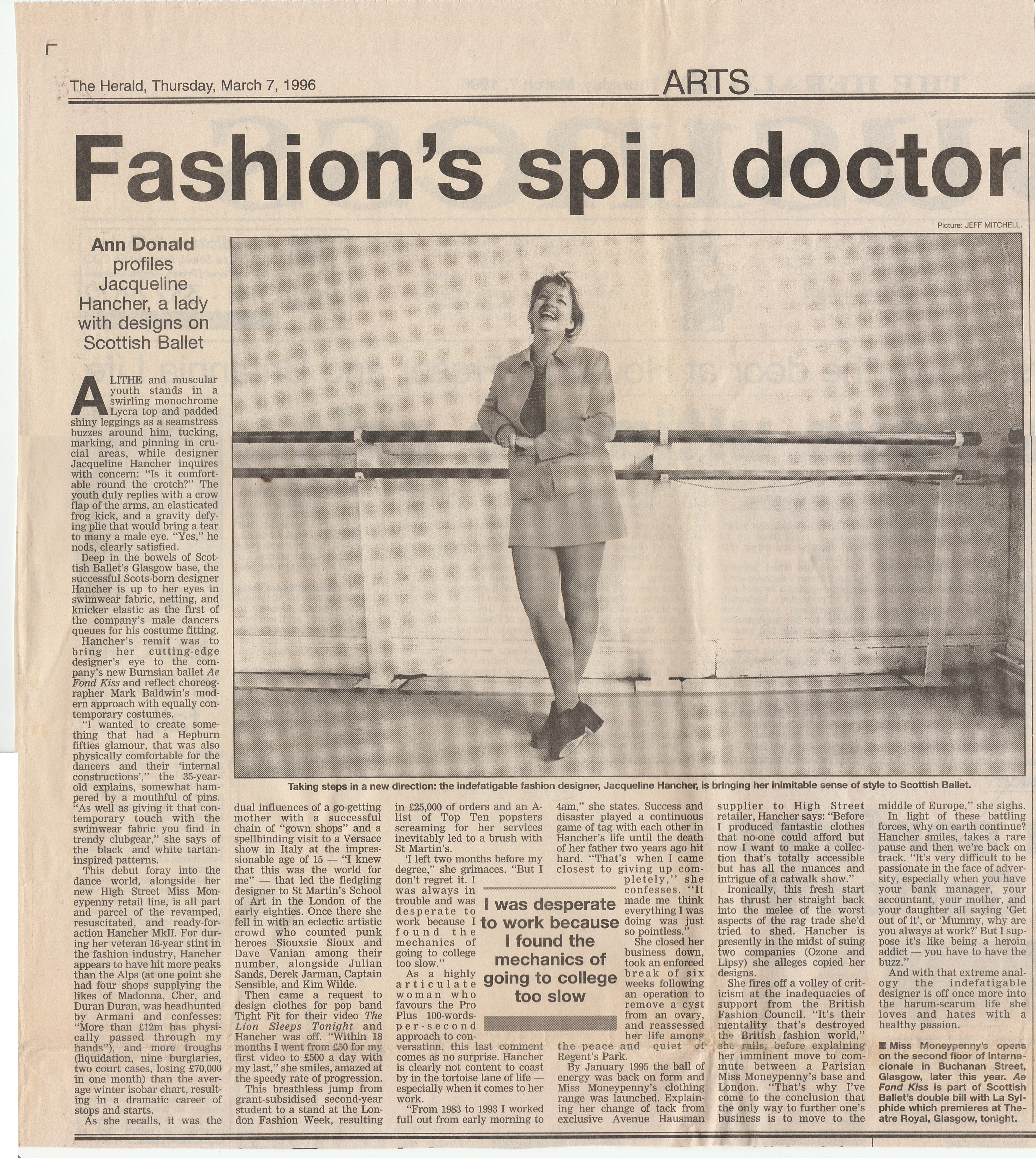 Fashion's Spin Doctor