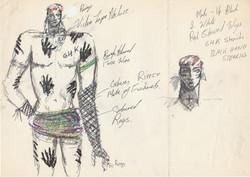 The Wild Boys sketches