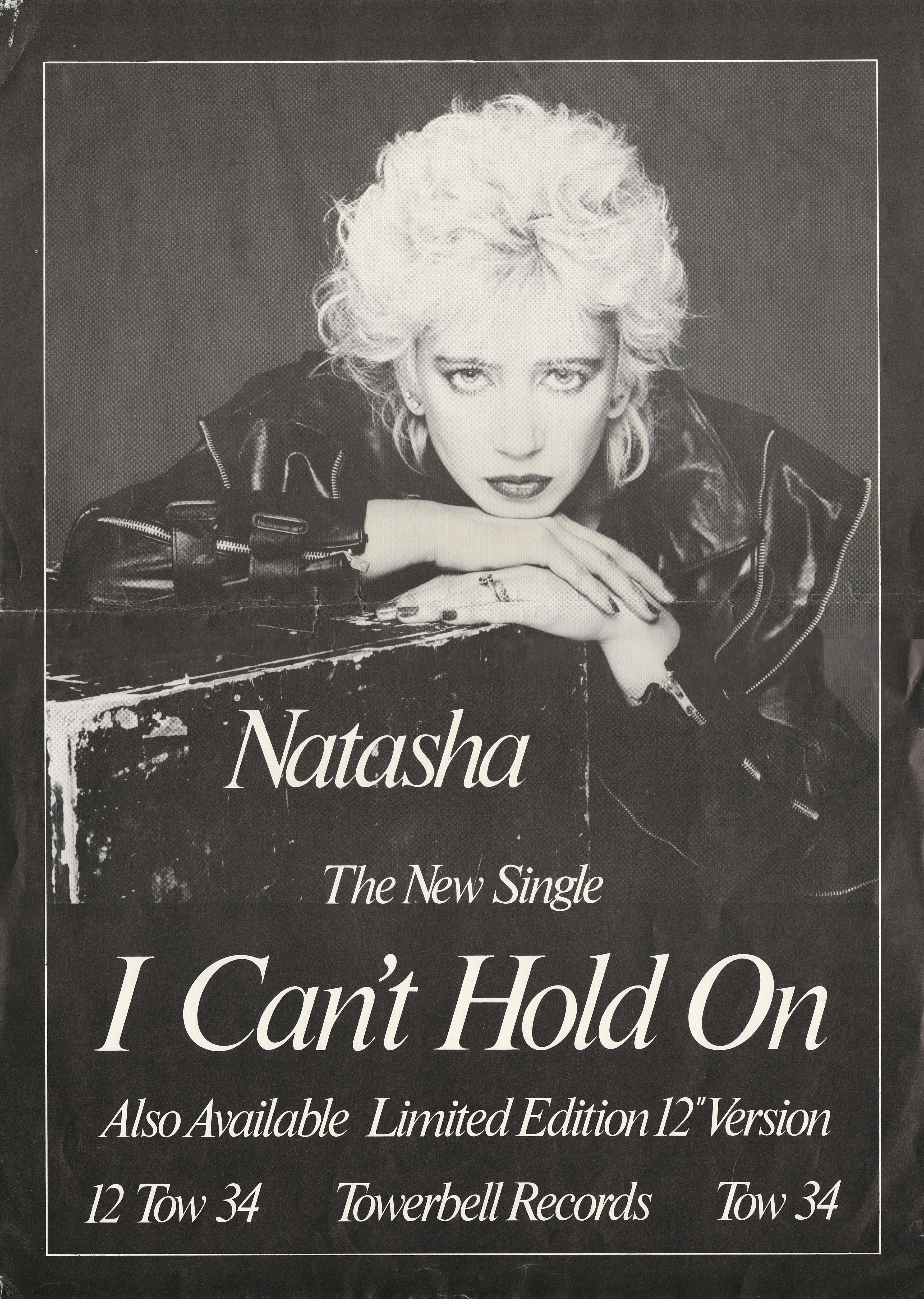 Natasha England 'I can't Hold On'