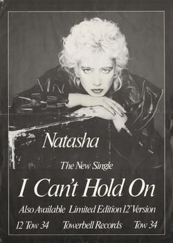 Natasha England 'I can't Hold On'
