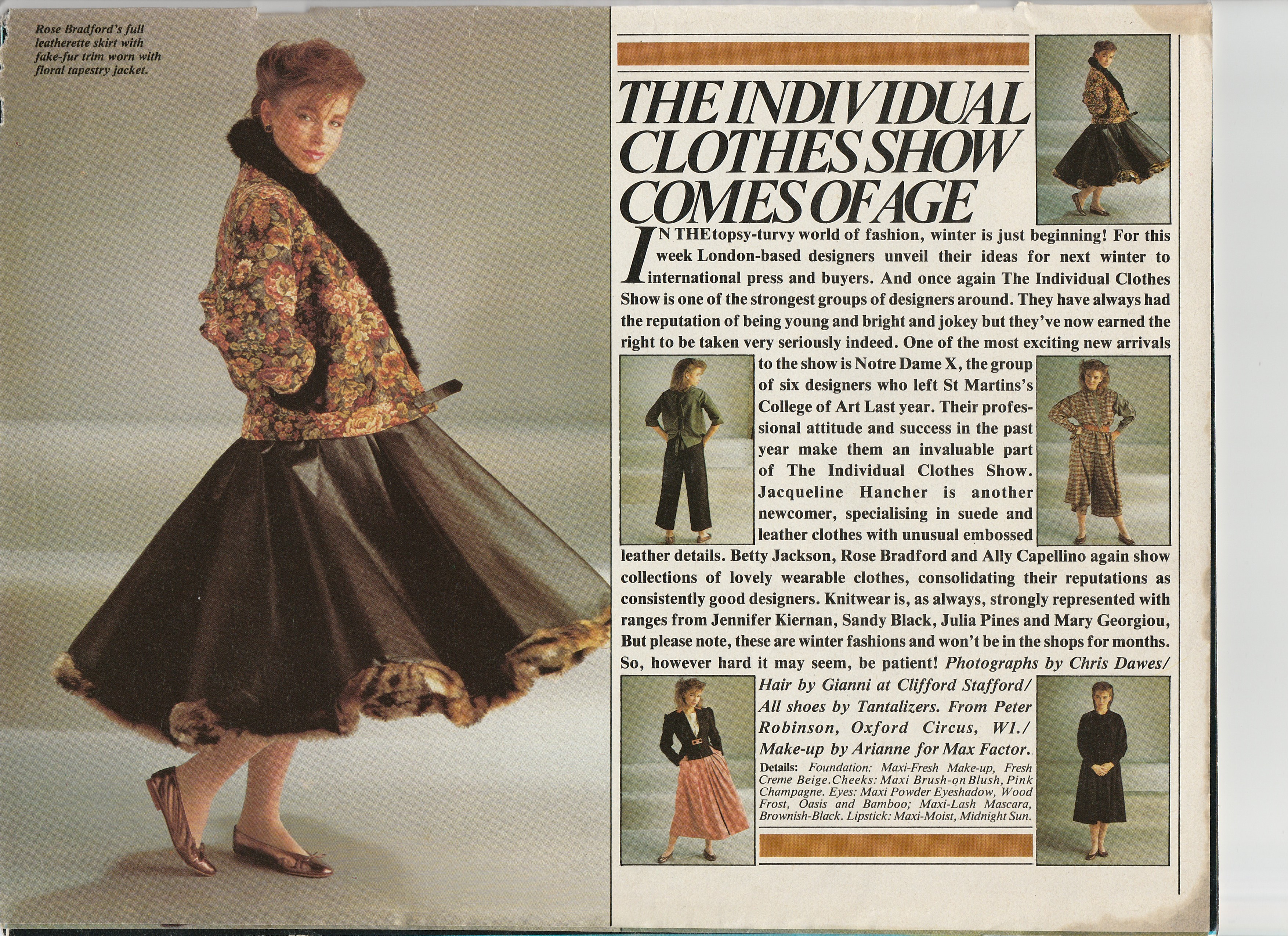 The Individual Clothes Show 1981