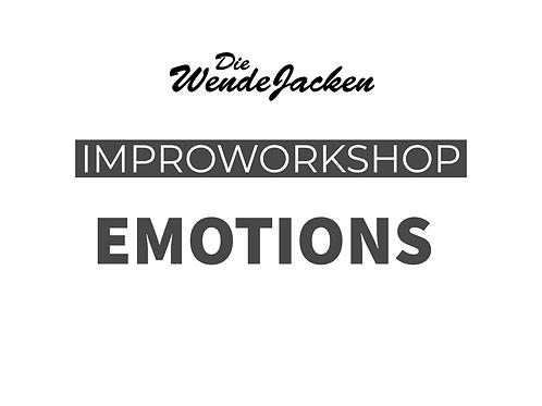 IMPRO & EMOTIONEN | Tageskurs