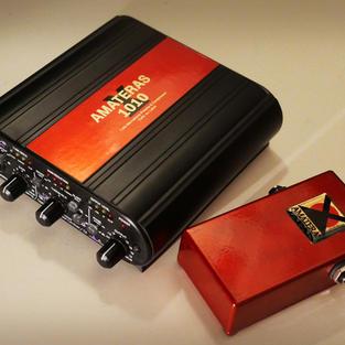 1ch.Mic Preamp & Compressor &DI / AMATERAS 1010 + 0001compact