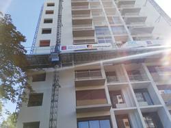 Rénovation de façades Les tourelles