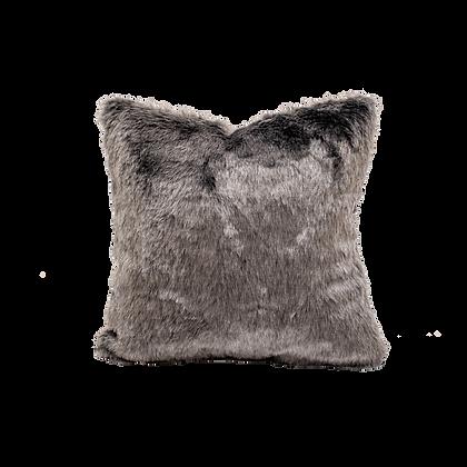 Fur Dark Grey Cushion