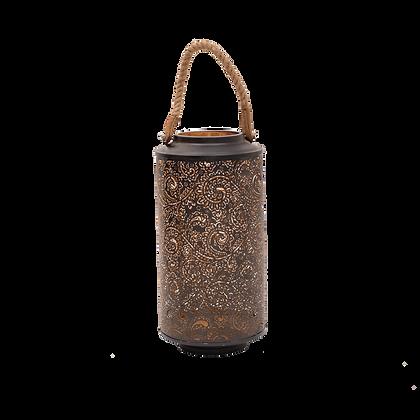 Paisley Lantern Black - Tall