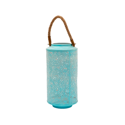 Paisley Lantern Blue - Tall