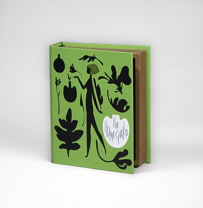 "Home Garden Book Box - 8"" x 6.5"" x 2"""