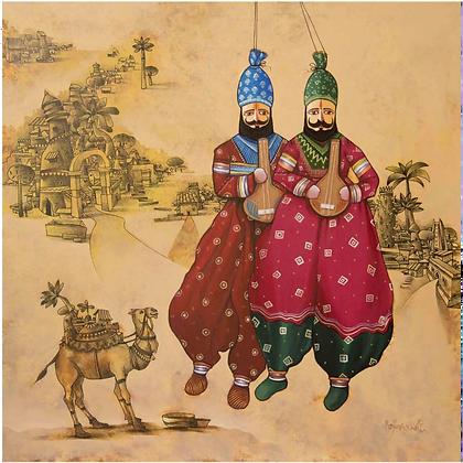 Manjunath Wali - Poppet Play