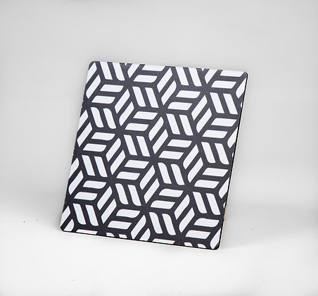Black and White Coasters (Set of 6)