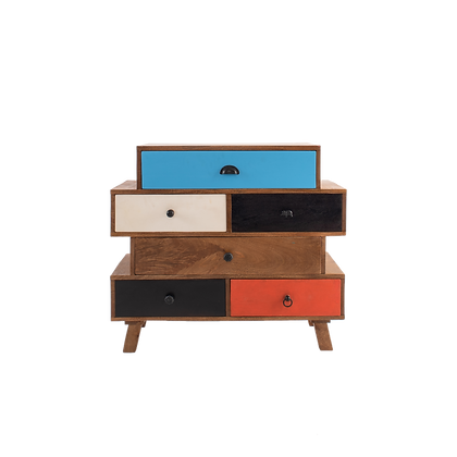 Jigsaw Chest of Drawers