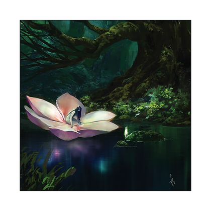 Lotus Canvas Art