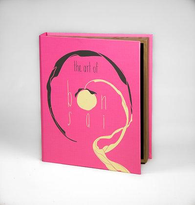 """The Art of Bonsai Book Box - 12"""" x 10"""" x 2.5"""""""