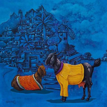 Manjunath Wali - Blue City