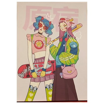 Tokyo Fashion Canvas Art