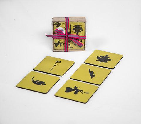 Home Garden Coasters (Set of 6)