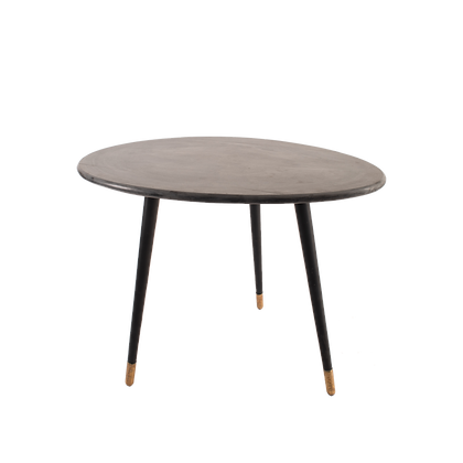 Grey Pebble Top Dining Table