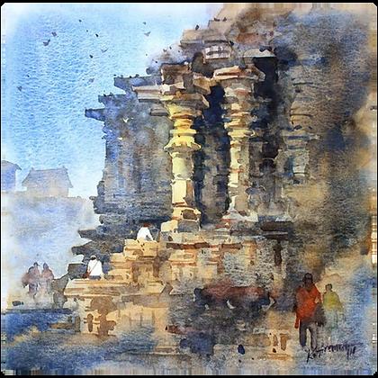 K Hiremath - Untitled 44