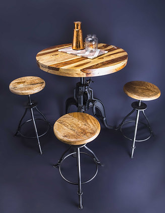 Height Adjustable Dining Table