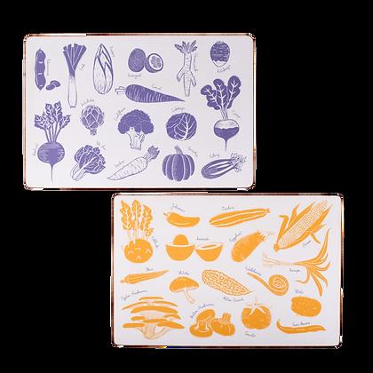 Summer & Winter Table mat (set of 2)