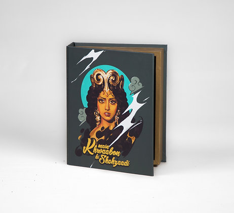 "The Legend Sridevi Book Box - 8"" x 6.5"" x 2"""
