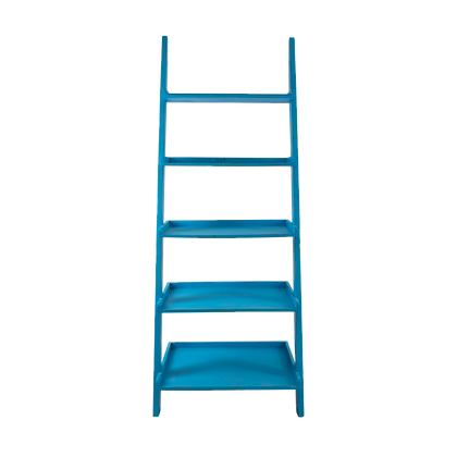 Blue Ladder Shelf