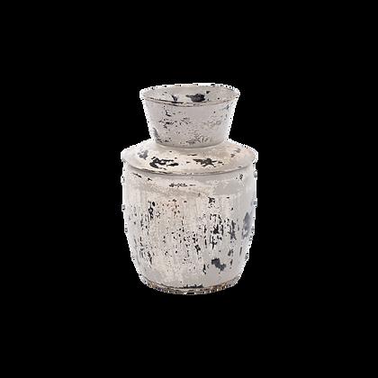 Distressed Flower Vase