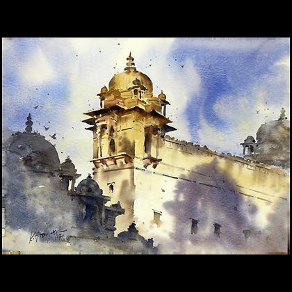 K Hiremath - Ram Raja Temple, Orchha