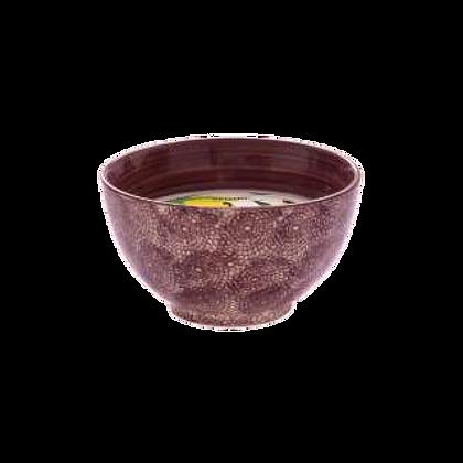 Coconut Lime Bandhani Bowl Candle