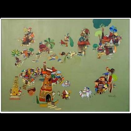 Manjunath Wali - My Village 06