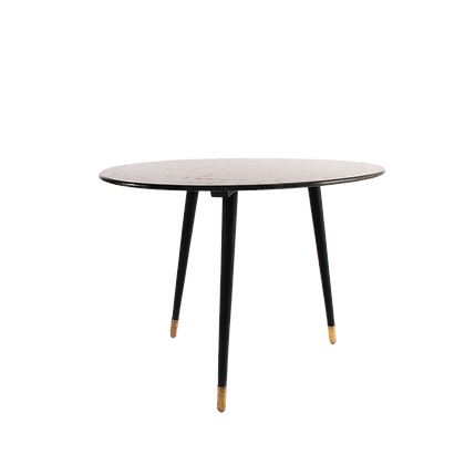 White Pebble Top Dining Table