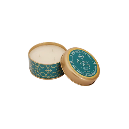 Reflection and Clarity Travel Tin Candle