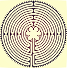 chartres cathedral Labyrinth, New Jersey