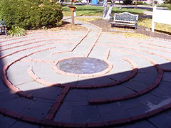 Labyrinth, Trinity Cathedral of the Diocese of New JerseyTrenton, NJ