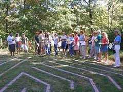Labyrinth, Christ Presbyterian Church, Martinsville, NJ
