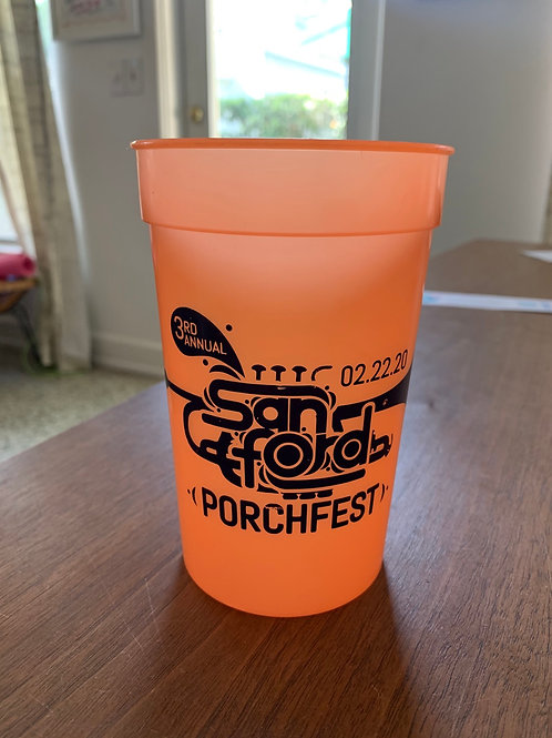 Sanford Porchfest 2020 Cup