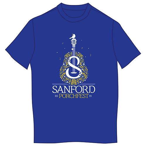 Sanford Porchfest 2019 Fest Shirt