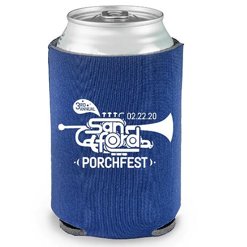 Sanford Porchfest Koozie