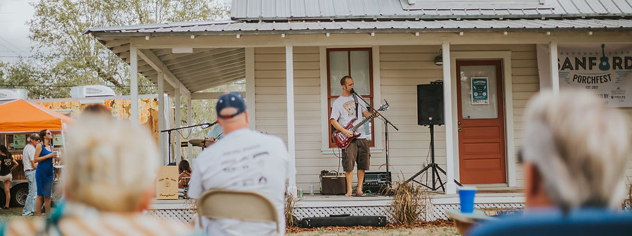 Band Playing on a porch